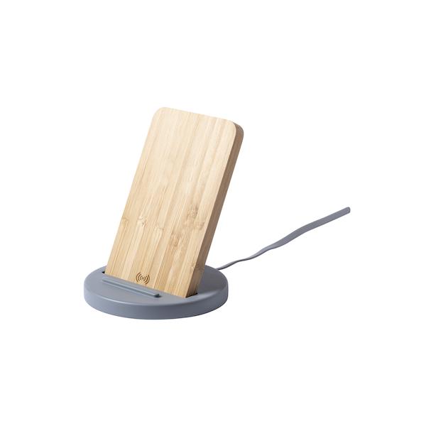 Base di ricarica personalizzata in bambù