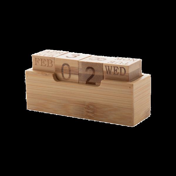 Calendario da tavolo personalizzato con logo