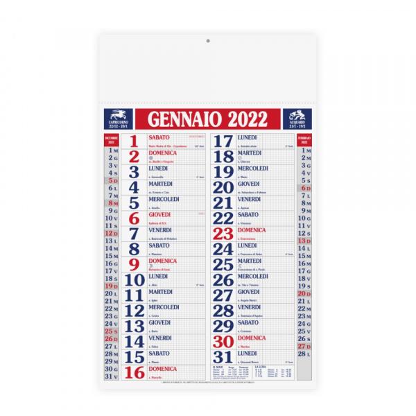 Calendari 2022 personalizzabile