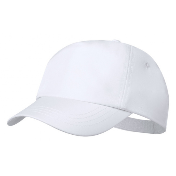 Cappellino con Logo in Plastica Riciclata