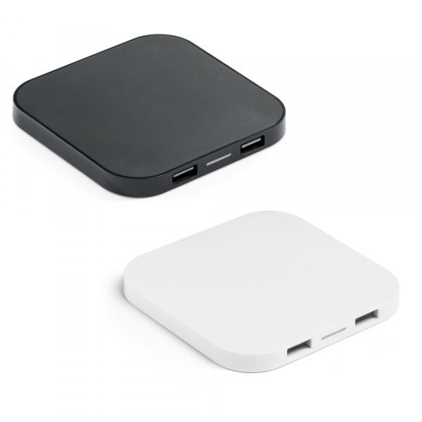 Caricatore wireless e hub USB