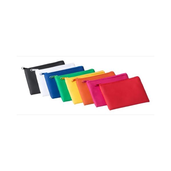 Colorata portamonete con logo