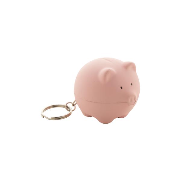 Gadget Portachiavi Antistress Pig