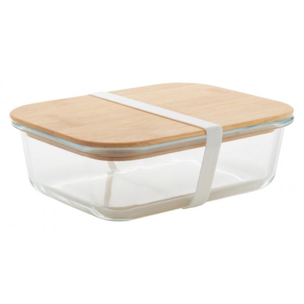 Lunch box personalizzabile in vetro