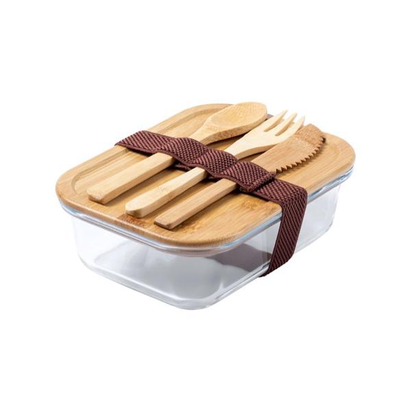 Lunch box promozionale con posate