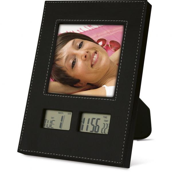 Orologio con porta foto