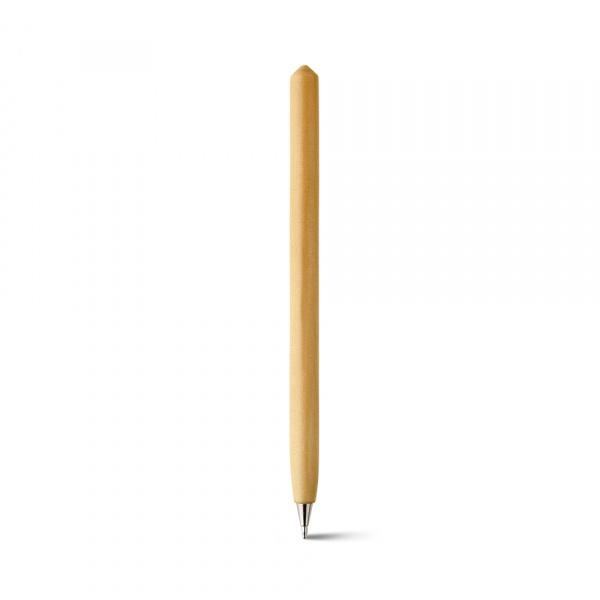 Penna in cartone con cappuccio