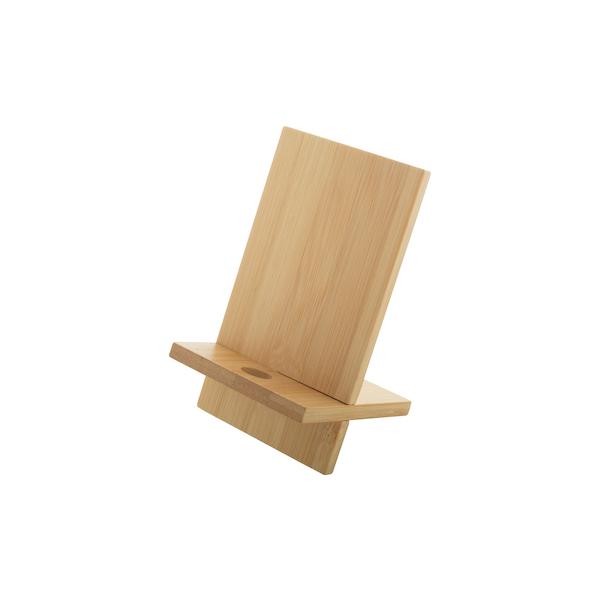 Supporto cellulare in bambù personalizzabile con logo