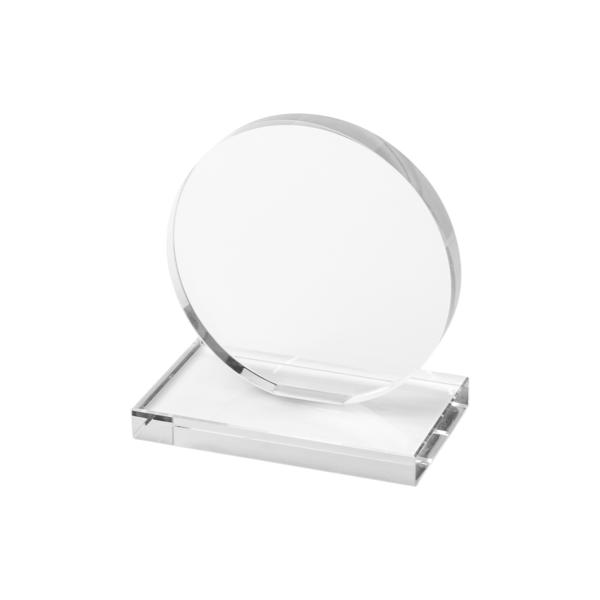Trofeo personalizzato in vetro