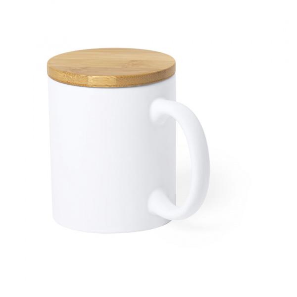 Mug in Ceramica e Bambù