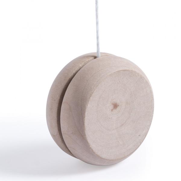 Yo-Yo in Legno Naturale