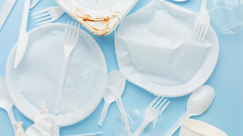 Stop alla plastica monouso dal 1 luglio 2021